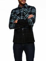 Scotch & Soda Oversized Flannel Shirt