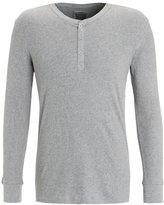 Levi's® Levis 300ls Long Sleeve Henley Pyjama Top Middle Grey Melange