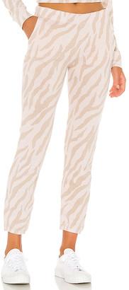 Monrow Zebra Chill Sweatpant