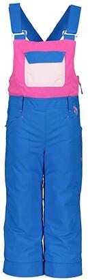 Obermeyer Disco Bib (Toddler/Little Kids/Big Kids) (Blue Vibes) Girl's Casual Pants
