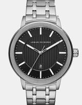 Armani Exchange Maddox Silver-Tone Analogue Watch