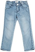Armani Junior Hearts Super Stretch Light Denim Jeans