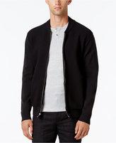 Alfani Collection Men's Lightweight Waffle-Knit Sweater Jacket