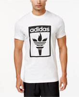 adidas Men's Trefoil Fire Graphic T-Shirt