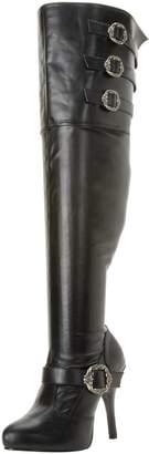 Funtasma Women's Diva-3006X/BPU Knee-High Boot
