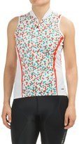 Sugoi Dot Cycling Jersey - Zip Neck, Sleeveless (For Women)