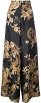 Vera Wang ormalu print pyjama trousers