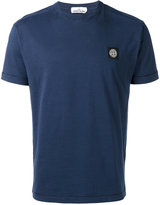 Stone Island logo patch T-shirt - men - Cotton - XL