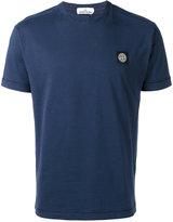 Stone Island logo patch T-shirt - men - Cotton - XXXL