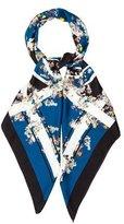 Erdem Silk Floral Shawl