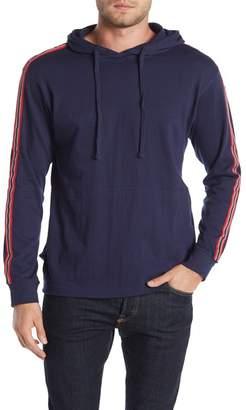 Burnside Stripe Sleeve Pullover Hoodie