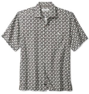 Tommy Bahama Men's Poolside Geometric Short Sleeve Shirt