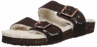Madden-Girl Women's Brando-F Slide Sandal