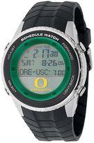 Game Time Oregon Ducks Stainless Steel Digital Schedule Watch - Men