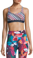 The Upside Mystic Keys Lottie Performance Crop Top