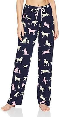 Hatley Little Blue House Women's Jersey Pyjama Bottoms,Small