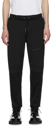 Givenchy Black Wool Tech Lounge Pants