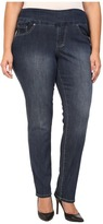 Jag Jeans Plus Size Chandler Pull-On Skinny in Anchor Blue Comfort Denim