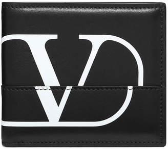 Valentino billfold logo wallet
