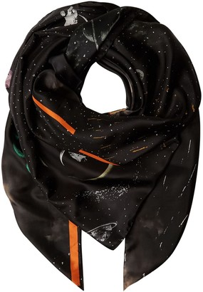 Klements Square Scarf In Kosmos Print