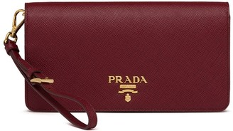 Prada logo plaque Saffiano mini bag