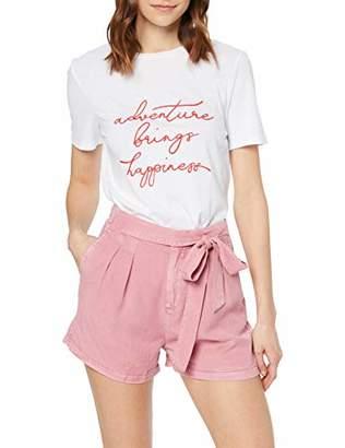 Vero Moda Women's Loose Summer Shorts,10 UK (Manufacturer Size: M)