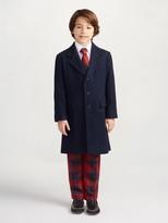Oscar de la Renta Wool Overcoat