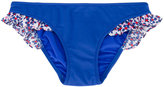 Il Gufo ruffled bikini bottoms - kids - Polyamide/Spandex/Elastane - 6 yrs