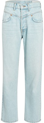 RE/DONE Double-Yoke High-Rise Jeans