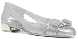Salvatore Ferragamo Women's Vara Jelly Pumps