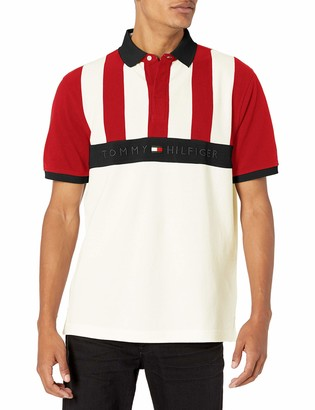 Tommy Hilfiger Men's Short Sleeve Polo Shirt in Classic-Fit