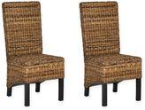 Safavieh Pembrooke Rattan Side Chair (Set of 2)