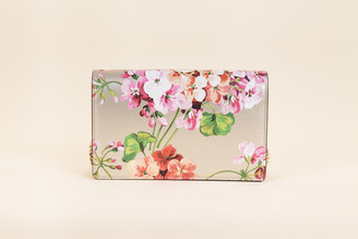 Gucci Blooms Wallet on a Chain