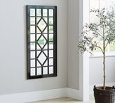 Pottery Barn Trellis Mirror - Black