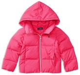 Ralph Lauren Girls' Hooded Puffer Jacket - Sizes 2-6X