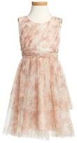 Jenny Yoo Toddler Girl's 'Etsy - Vintage Floral' Tulle Dress