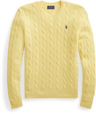Ralph Lauren Cable Wool-Blend Jumper
