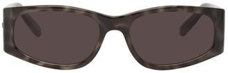 Saint Laurent Grey Tortoiseshell SL 329 Sunglasses