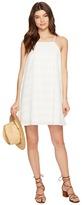 BB Dakota Neilan Textured Cotton Dress with Cotton Eyelet Yoke Women's Dress
