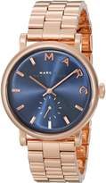 Marc by Marc Jacobs Women's Baker MBM3330 Rose Stainless-Steel Swiss Quartz Watch