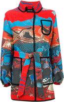 Giorgio Armani Cappotto coat - women - Cotton/Acrylic/Polyamide/Metallic Fibre - 42