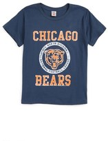 Junk Food Clothing Boy's Kick Off Chicago Bears T-Shirt