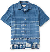 Tommy Bahama Short-Sleeve Geo De Janiero Printed Woven Shirt