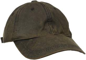 San Diego Hat Company San Diego Hat Co. Men's Distressed Wax Cloth Ball Cap with Adjustable Strap