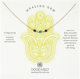 Dogeared Triple Healing Gem Turquoise Necklace Necklace