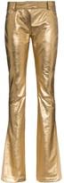 Ronald Van Der Kemp metallic flared trousers