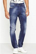 Diesel Tapphar Slim Leg Tapered Ankle Jeans
