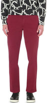 Ps By Paul Smith Regular-fit Tapered Stretch-cotton Chinos