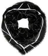 Calvin Klein ARTISAN Foulard black