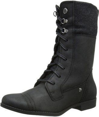 Hush Puppies Women's Fidda Maisie Combat Boot